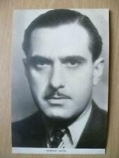 Film Actors Postcard- HAROLD HUTH ''No.2, Film Weekly, London''