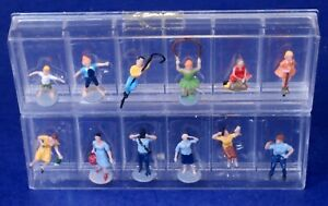 Lot of HO Scale Adult People & Children Figures