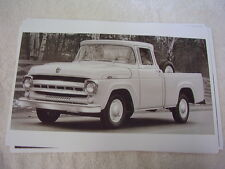 1957 FORD PICKUP 1/2 TON  F100    11 X 17  PHOTO  PICTURE