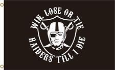 Nfl Oakland Raiders 3*5 ft Team Flag