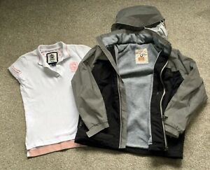 Girls Horseware Ireland Requisite Horse Riding Top And Jacket Age 9-10 Years