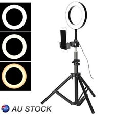 LED Dimmable Ring Light Studio Photo Video Live Lamp&Camera Phone holder&Tripod