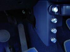 Smart Fortwo 450/4 piezas aluminio-botones para CD cepillado con borde Pulido