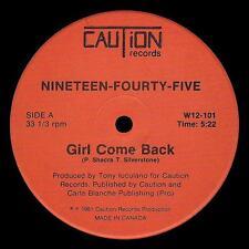 "Rare Original Modern Soul 12"" NINETEEN-FOURTY-FIVE"