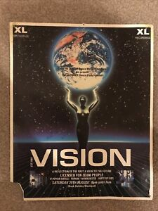 VISION - A4+ RAVE FLYER- 29/8/1992- POPHAM AIRFIELD - 20,000 PEOPLE- THE PRODIGY