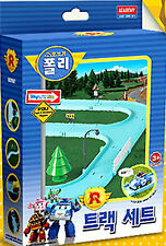 "Robocar Poli ""TRACK SET"" for Rescue center play/ Rail Diecast figure Toy Academy"