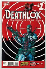 Deathlok #1, #2, #3, #4 - Mike Perkins Artwork - Marvel Now - 2014