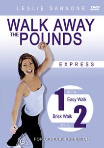 Leslie Sansone WALK AWAY THE POUNDS (EXPRESS) - WEIGHT LOSS WORKOUT DVD