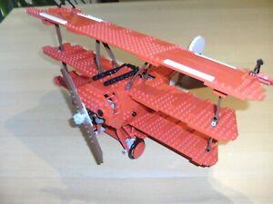 LEGO 10024 RED BARON Dreidecker Flugzeug gebraucht