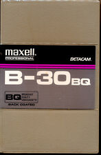 MAXELL PROFESSIONAL B-30BQ Betacam Tape Back Coated