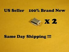 2 X Micro USB Charging Port for Motorola DROID XYBOARD MZ609 Tablet 822