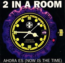 "2 IN A ROOM ahora es (now is the time) 12 TIV-32 uk positiva 1995 12"" PS EX/EX"