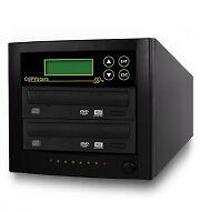 Copystars CD Dvd Duplicator 500GB hard drive 2 target 24X sony burner 1-2 SATA