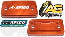 Apico Orange Front Clutch Master Cylinder Cover For KTM SX 65 2003-2013 03-13