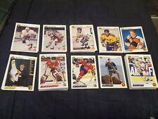1991-92 Upper Deck Hockey Stars and Rookies (you choose from list)
