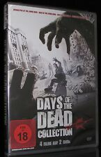 DVD DAYS OF THE DEAD COLLECTION - 4 FILME - ZOMBIE - HORROR - LIVING DEAD * NEU
