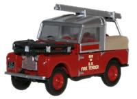 Oxford Diecast 76LAN188015 British Rail Land Rover 88 Fire Tender OO Gauge