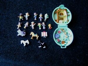 Vintage 1992 Polly Pocket Jeweled Forest *COMPLETE W/16 Figures* by BlueBird