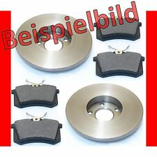 VW Vento 1.9 TDI Bremsen Bremsscheiben Beläge hinten Für 4 Lochfelgen**