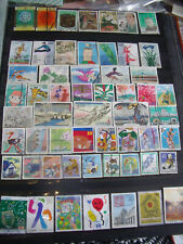 JAPAN STAMPS LOT 3 X 145 USED STAMPS