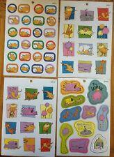 DR SEUSS The LORAX Stickers! 4 Sheets Humming-fish Bar-ba-loots Truffala Thneed