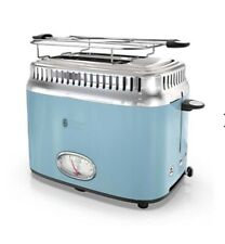 Russell Hobbs Retro Style Toaster Vintage Baby Blue Design