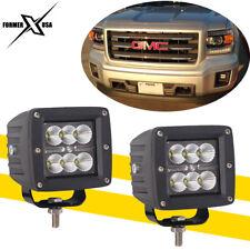 "2x3"" Dually 18W CREE LED Cube Fog Lights For Truck Bumper Reverse Fog 4X4WD 12V"