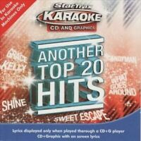 Another Top 20 Hits  -STAR TRAX KARAOKE  - CD - New Sealed  - EE