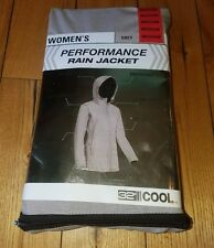 NWT Womens Dove Melange 32 DEGREES Performance Rain Jacket Size Small S
