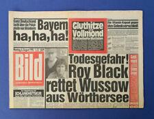 Bild Zeitung -      6. 8. 1990 - Julia Roberts * Danuta * Raimund Harmstorf