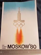 Missle threats- USSR Cold War Olympic Propaganda 1980 Moscow. XXII Olympics