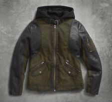 "Harley-Davidson Damen Textiljacke ""3IN1""Schafsleder,Canvas *97417-17VW/022L* 2XL"