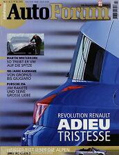 Auto Forum 2001 3/01 BMW M3 Cabrio Mini Cooper Lexus SC 430 Porsche 356B Sebring