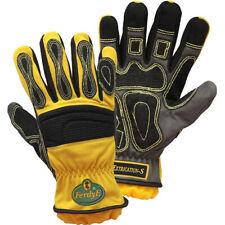Handschuh Proflex730 für Seilarbeiten Schutzhandschuh THL Feuerwehr gelb//schwarz