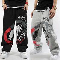 4FB Men's HIP HOP RAP Ecko Unltd SkateBoarding SweatPants Cotton Pants Trousers