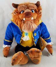 New Disney Store Beast Plush Toy Doll - Beauty and the Beast - Medium - 15 1/2''