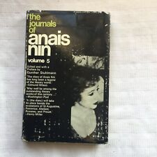 The Journals Of Anais Nin Vol.5 1st HB/DW Kenneth Anger Interest