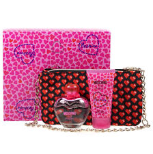 Moschino Pink Bouquet 50ml EDT Body Lotion and Cross Body Bag Gift Set
