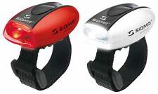 Sigma Micro Set Combo Frontlicht Front LED Vorderlicht Rot Rücklicht Laufen Helm