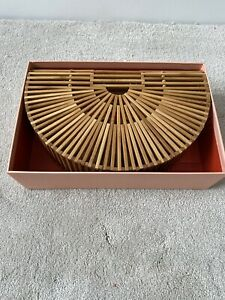 CULT GAIA ark Small Bamboo Clutch Bag