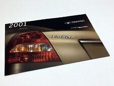 2001 Daewoo Nubira Sedan Wagon Brochure
