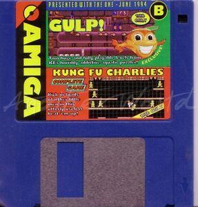The One Amiga - Magazine Coverdisk B - Jun 1994 - Kung Fu Charlies <MQ>