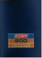 FIAT 500 & 500L SALOON ORIGINAL 1970 FACTORY SPARE PARTS CATALOGUE