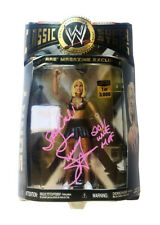 WWE CLASSIC SUNNY 1 OF 3000 HAND SIGNED AUTOGRAPHED TOY ACTION FIGURE WITH COA