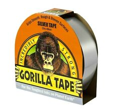Silver Gorilla Tape 48mm x 32M Strong Duct Gaffer Tape Smooth Rough Grip Gaffa