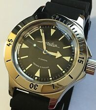VOSTOK AMPHIBIAN RUSSIAN DIVER WATCH AUTOMATIC 200 m #120512 NEW