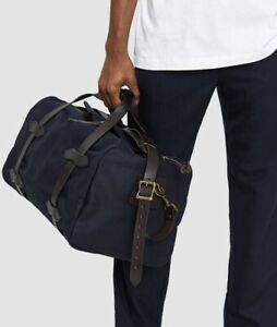 filson small duffle Navy NWT Made In USA $350