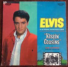 """ELVIS PRESLEY,""""KISSIN'COUSINS"""" ALBUM,VINTAGE LP 33,EXCELLENT CONDITION"""