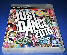 Just Dance 2015 Sony PlayStation 3 *Factory Sealed! *Free Shipping!
