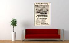 "1969 TOYOTA COROLLA E10 AD PRINT WALL POSTER PICTURE 33.1""x23.4"""